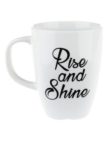 Morhipo Home Rise And Shine - Çift Taraflı Kupa Beyaz